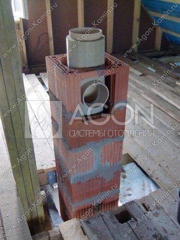 Монтаж дымохода керамический решетка для дымохода бани
